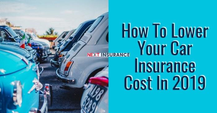 Lower Car Insurance Cost kenya