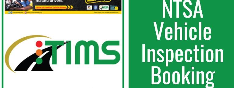 NTSA Inspection Booking Requirements, Fee & Procedure