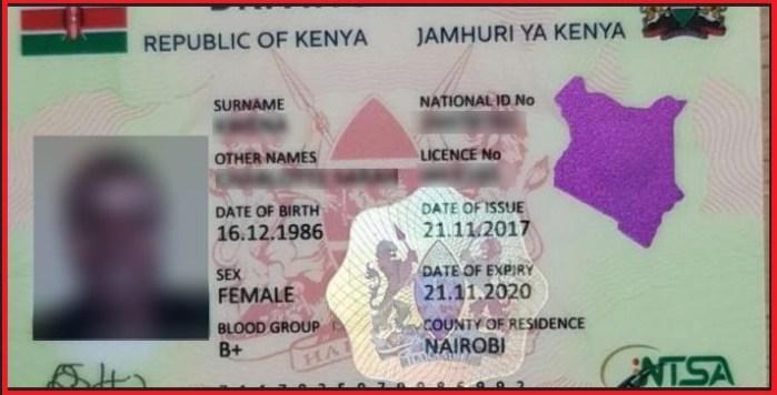 Apply NTSA Smart Digital Driving License in Kenya