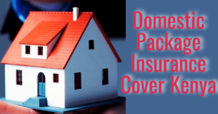 domestic package insurance quotes kenya - home insurance cover kenya