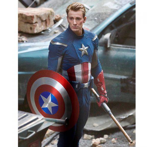 Avengers Endgame Chris Evan Captain America Leather Jacket