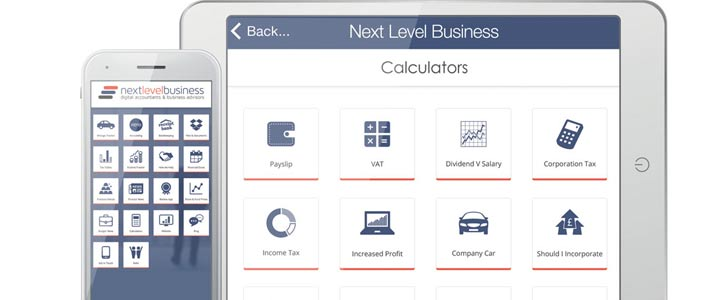 Next Level Business Accountancy app