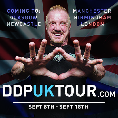 I tried ... a DDP Yoga session with DDP