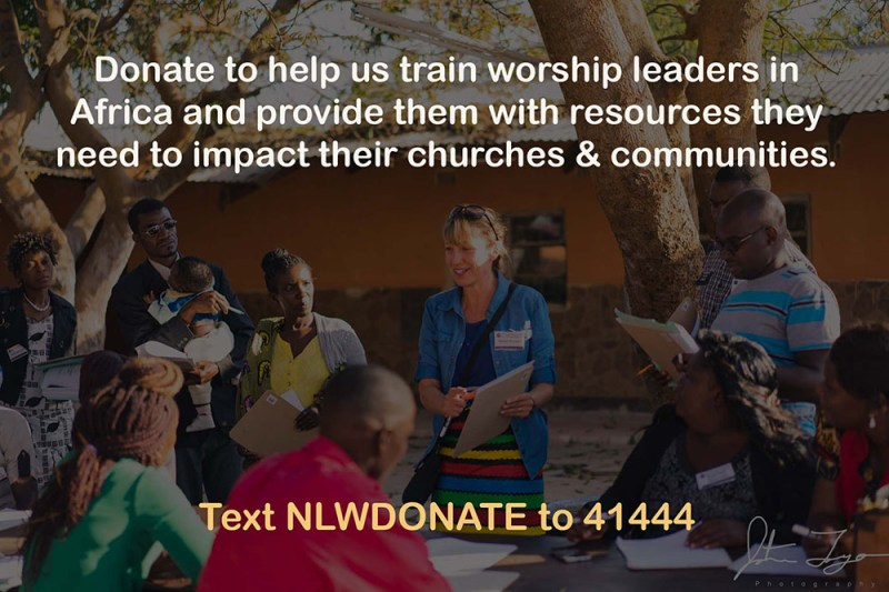Donate to Next Level Worship for Africa