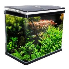 Office Chair Accessories Australia Swivel With Ottoman Aquarium Curved Glass Rgb Led Fish Tank 52l - Dynamic Power