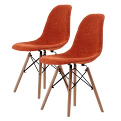 Eiffel Dining Chair With Beech Legs Toddler Camp 4 X Retro Replica Eames Dsw Fabric