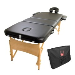 Massage Chair Bed Recliner Accessories Wooden Portable Table 3 Fold Beauty Therapy