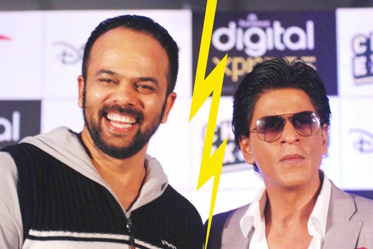 Fight Between Rohit Shetty & Shah Rukh