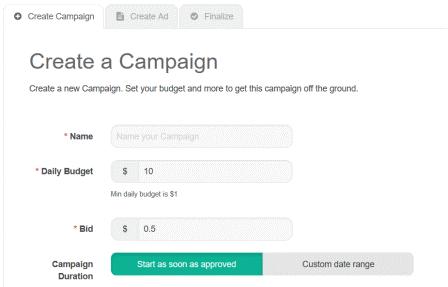 Create Adshop Campaign