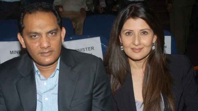 Sangita Bijlani and Mohammad Azharuddin