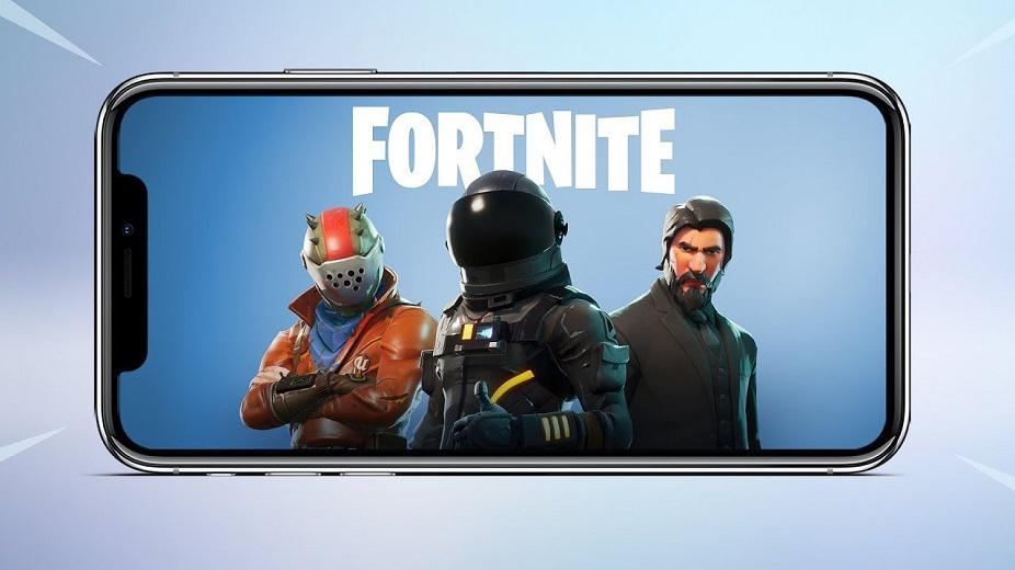 iPhone Fortnite