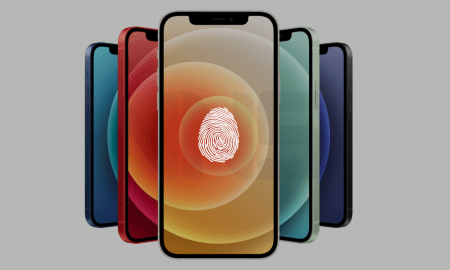 Apple's Under-display Touch ID on an iPhone is still ON