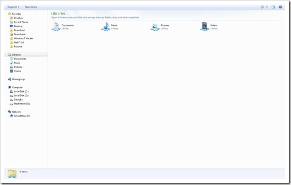full screen windows explorer 2