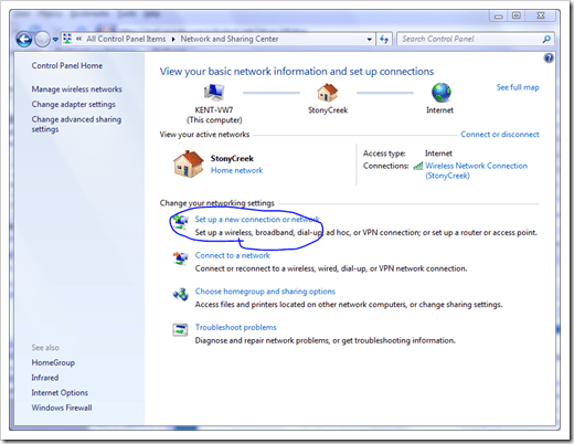 How To Set Up A VPN Connection in Windows 7 Next of Windows