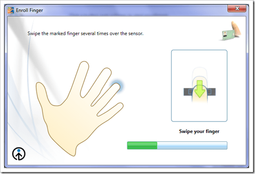 how to change your fingerprints temporarily