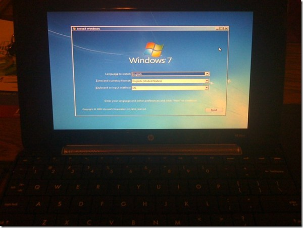 How To Install Windows 7 On Freedos Laptop Bag