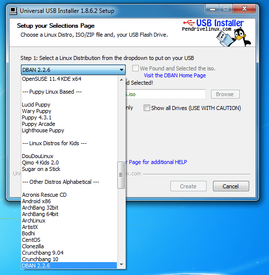 How To Boot Dban Off Usb Drive To Wipe Out The Hard Drive Next Of