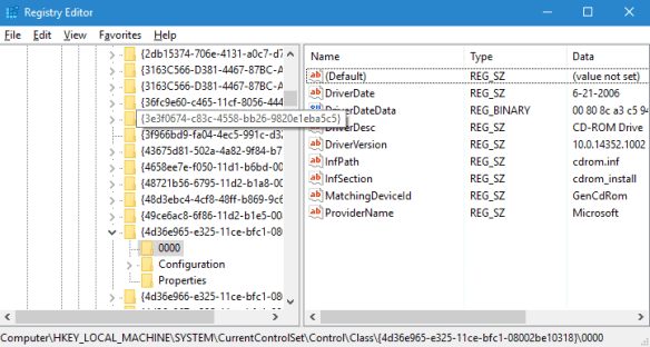 Registry - network
