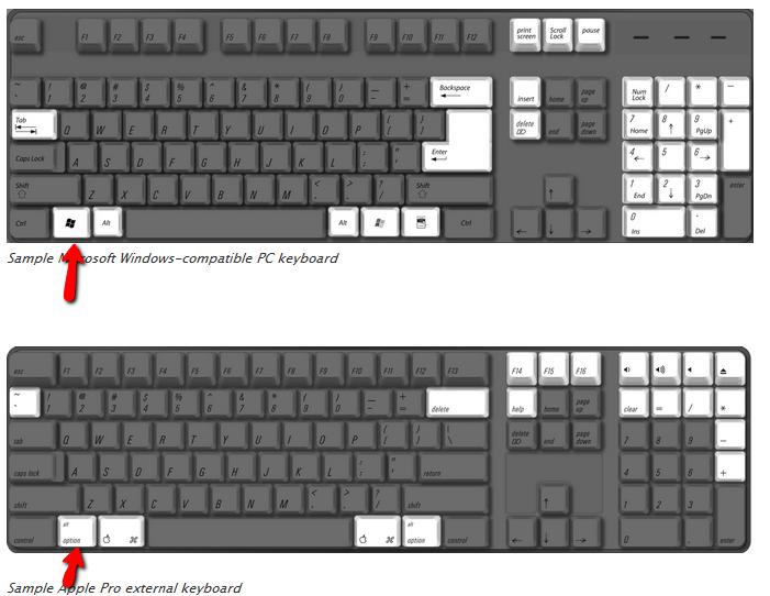 Map Apple Keyboard on Windows 7 and Restore Apple Function Keys
