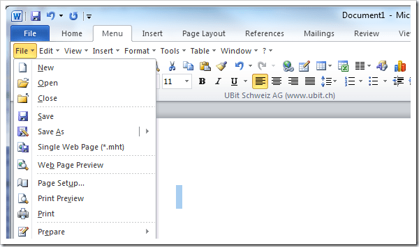 2 Tools to Get Classic Menu and Toolbars back in Microsoft Office ...