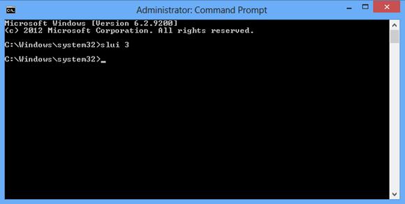 CMD - slui command