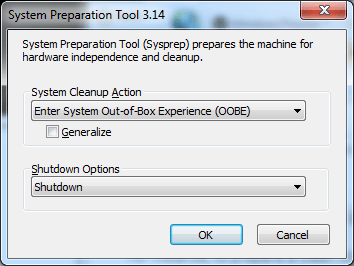 System Preparation Tool 3