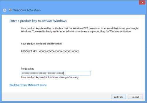 Windows 8 Activate Window