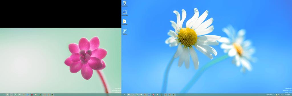Windows 8 Dual Screen