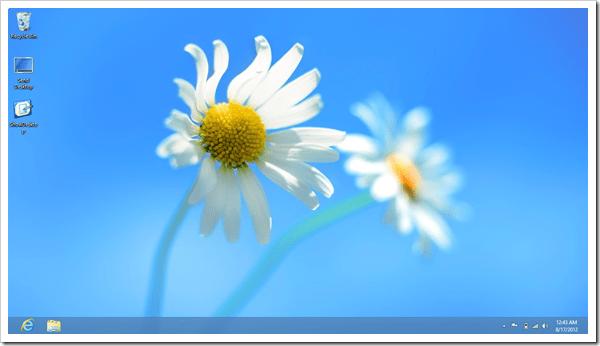 Windows 8 desktop thumb - Top 10 Tweaks You Should Do with Windows 8