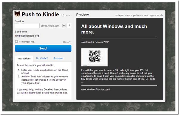 Kindle it