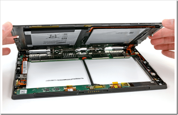 Microsoft Surface Teardown