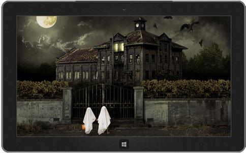 ticket to fear theme - Windows 7 Halloween Theme