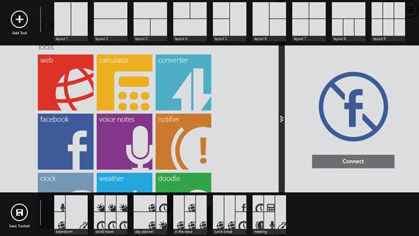 Windows 8 app - Toolbox