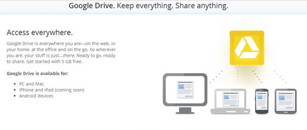Google Drive is Official Grab Free 5GB Cloud Space on Your ...