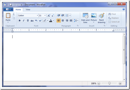 Where is the WordPad in Windows 10 how to open the writer