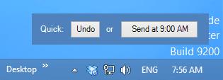 Mañana Mail - delay sending