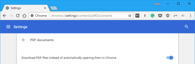 Chrome - Settings - content - PDF