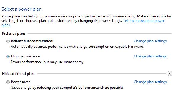 PowerOptions