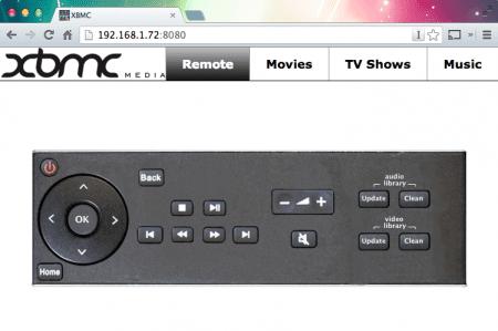 XBMC Web Remote