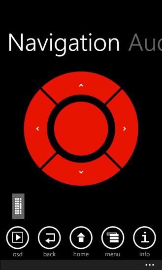 Windows Phone XBMC Remote