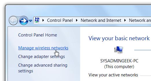manage wireless network