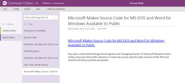 2014-03-26 22_07_39-Personal (Web) - Microsoft OneNote Web App