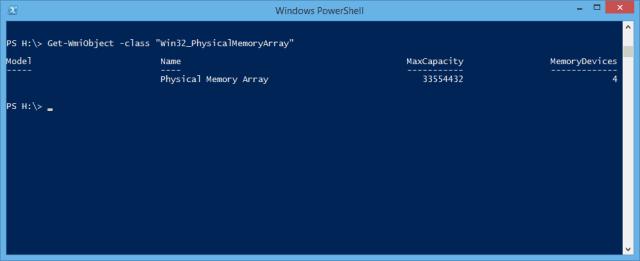 PowerShell - total slot