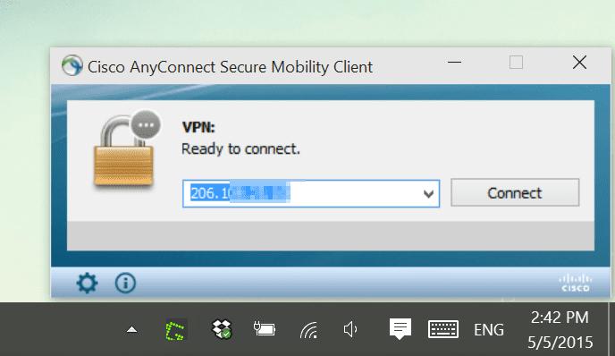 client vpn cisco