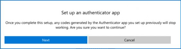 Setup Microsoft Verification