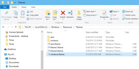 Windows 10 - customize title bar