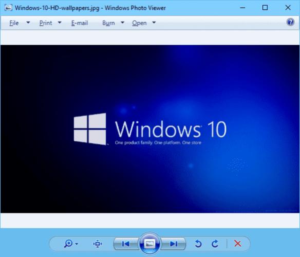 Windows Photo Viewer