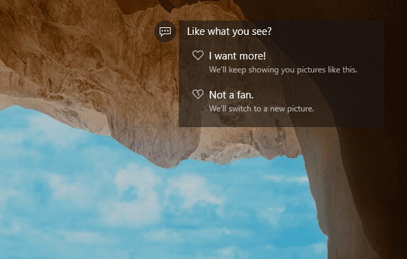 Windows Spotlight - Lock Screen