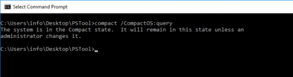 Command Prompt - Compact