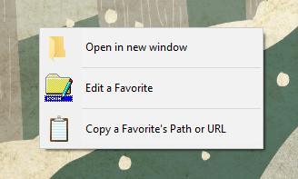 Quick Access Popup - alternative menu
